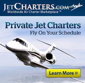 Jet Charters - Book a Flight